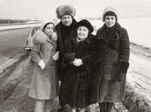 Фотопортреты Э.Неизвестного 60-70-ые гг.: перед отъездом за границу (1976 г.)