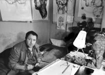 Фотопортреты Э.Неизвестного 60-70-ые гг. Фото И. Пальмина
