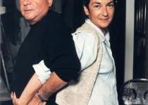 Фотопортреты 1980 - 2000 гг.: с женой Анной