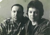 Фотопортреты Э.Неизвестного 60-70-ые гг.: с женой Диной Мухиной