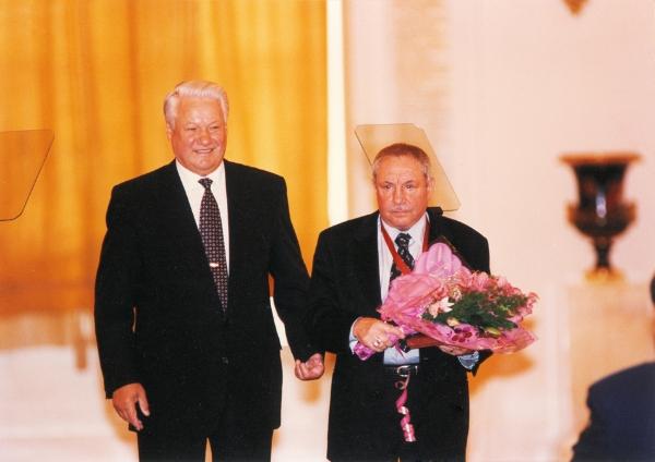 Современники: с Борисом Ельциным