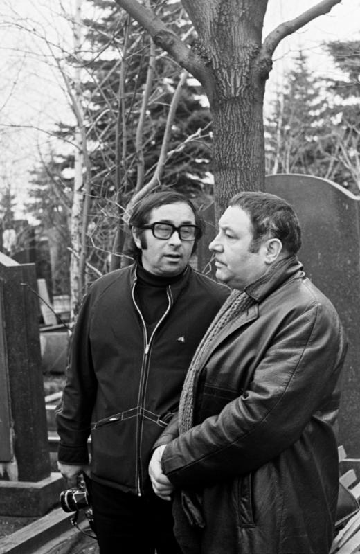 Друзья: с Борисом Жутовским